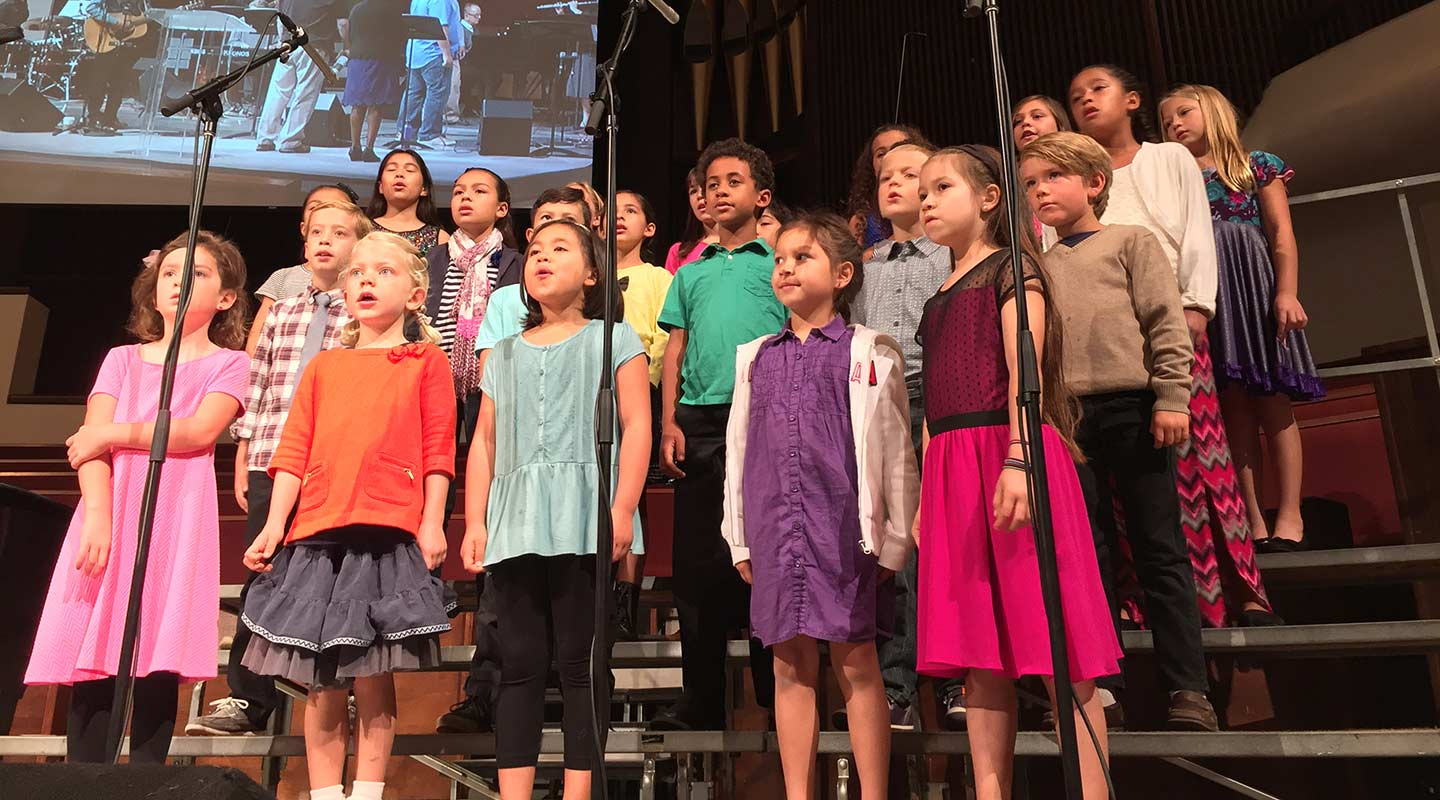 Choristers and NewSong Youth Choirs